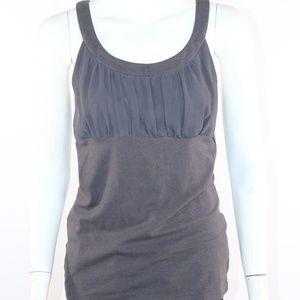Express Women's Medium Grey Tank Top